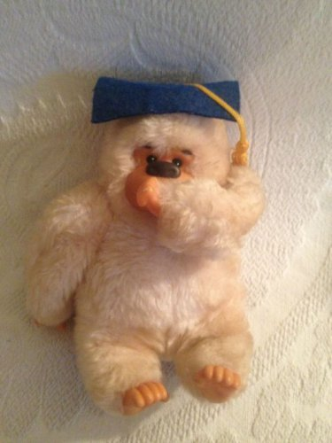 "VTG 7"" Russ Graduate Gonga Thumb Sucking Goeilla Graduation Plush Stuffed"
