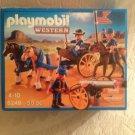 NEW Playmobil Western 5249 Horse-Drawn Carriage W/ Calvary Rider Playset