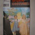 Simplicity 7801 Wizard of Oz Costume Pattern sz 3-8 A Halloween