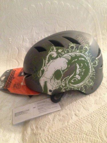 NEW Mongoose Tattoo Bike Helmet 8+ Youth Boys Gray