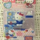 Mega Bloks Hello Kitty Sailor Suit 10812 Figure Building Blocks Set 7 Pcs