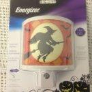 NEW Energizer LED Halloween Witch Automatic Nightlight Dark Light Sensor