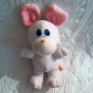 "9"" Vintage 1980's Tonka Pet Store Pals Rare White Mouse Plush Stuffed VTG"