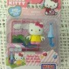 Mega Bloks Hello Kitty Rainy Day 10813 Figure Building Blocks Set 7 Pcs