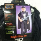 New Halloween Boys Knight Play Set Costume Age 3+ one Size Fits Most