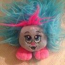 """5"""" Shnooks Shazzabam Blue Pink Plush Stuffed Friendly Girl Monster"""