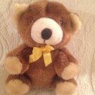 "5"" Rosco Similac Infant Formula Brown Teddy Bear Plush Stuffed Yellow Ribbon"