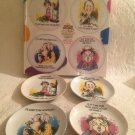 Golden Years Porcelain Appetizer Plates By Finkstrom For Centrum Old Age Comedy