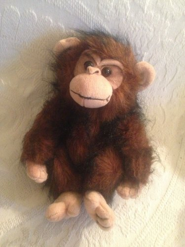 "1997 12"" Morehead Collection Endangered Young'uns Plush Stuffed Monkey"