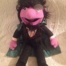 "14"" Rare Applause Sesame Street Plush Stuffed The Count Doll"