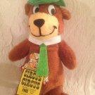 "14"" Vintage 1980 Hanba Barbera Yogi Bear Plush Stuffed Toy Mighty Star"
