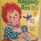 Vintage 1970 Unused Raggedy Ann Trace & Color Activity Book