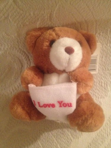 "Russ 5"" VTG Russ Caress Soft Pets Good Wish Teddy Bears I Love You NWT"