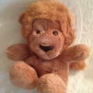 "Gund VTG 1979 11"" Roarry Brown Plush Stuffed Lion K-2 Toy VGUC"