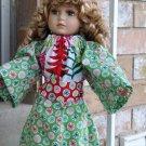 American Girl Doll Christmas Tunic Dress