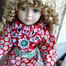 Funky Christmas Tunic Doll Dress