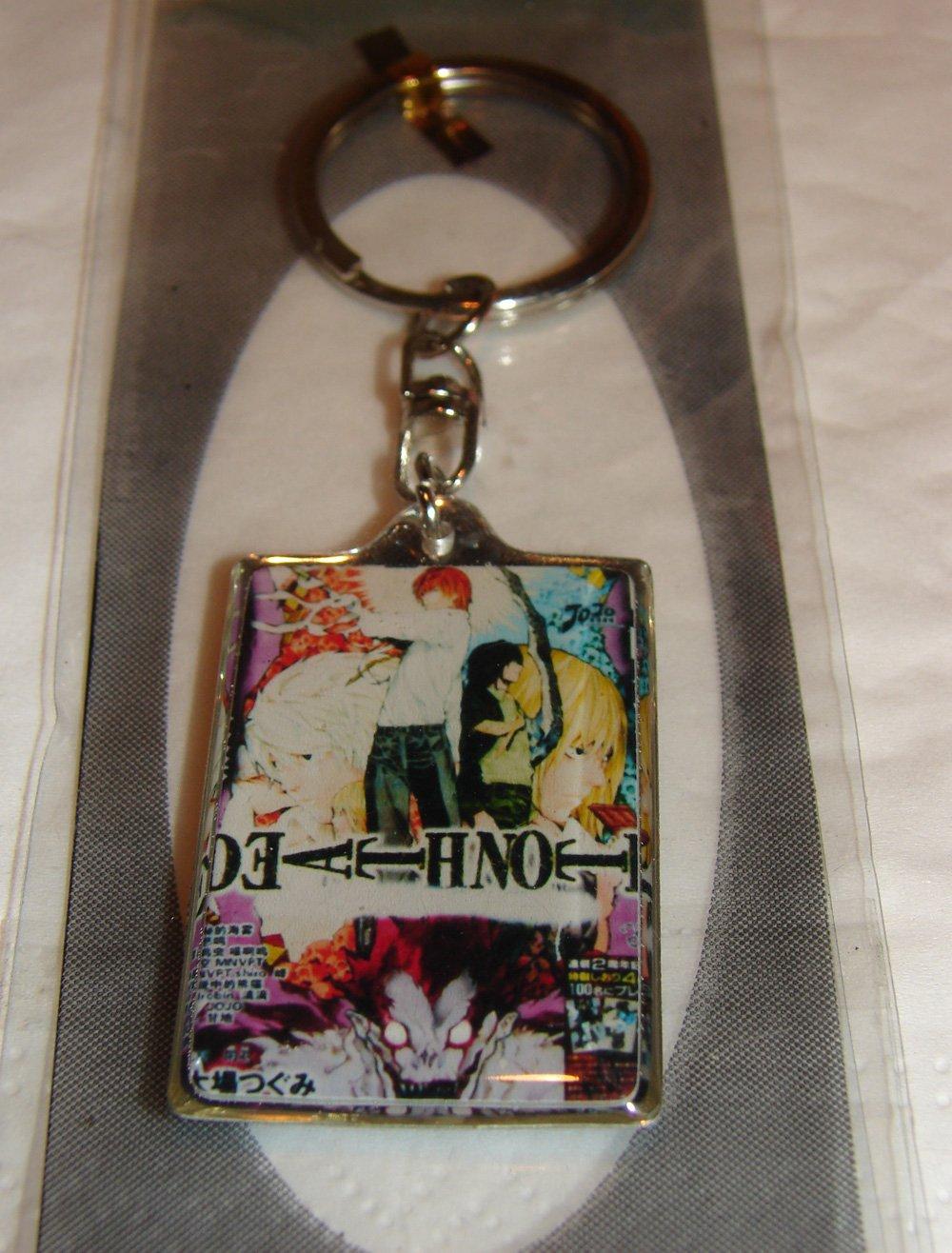 Death Note Manga Keychain - Group #1 - Light, Ryuk & others