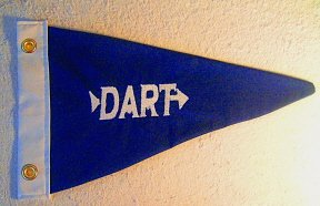 Custom Cotton Dart Boat Burgee Flag