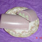 BLACKBERRY SAGE SWIRL Handmade Soap - 3 OZ. CRESCENT BAR