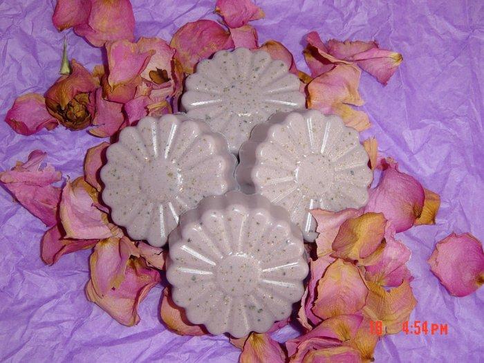 PATCHOULLI AND JASMINE ROSE Handmade Soap - 3 OZ. FANCY BAR