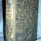 Heidi Johanna Spyri Grosset Dunlap Companion Library edition AL1068