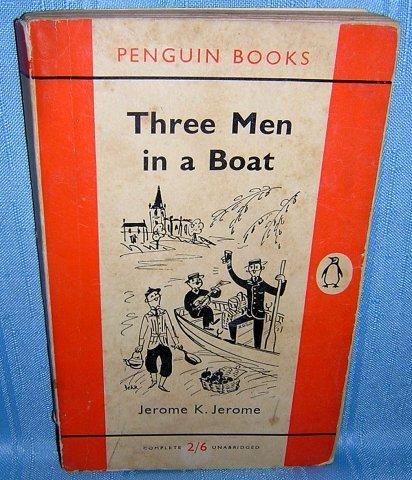 Three Men in a Boat Jerome K Jerome Penguin edition 1959 AL1123