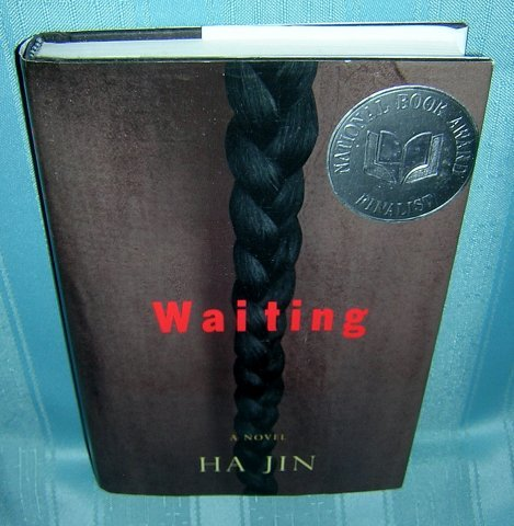 Waiting a novel Ha Jin 1st ed. 2nd prtng Nat'l Book Award AL1162
