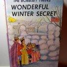 Bobbsey Twins' Wonderful Winter Secret Laura Lee Hope vintage copy AL1190