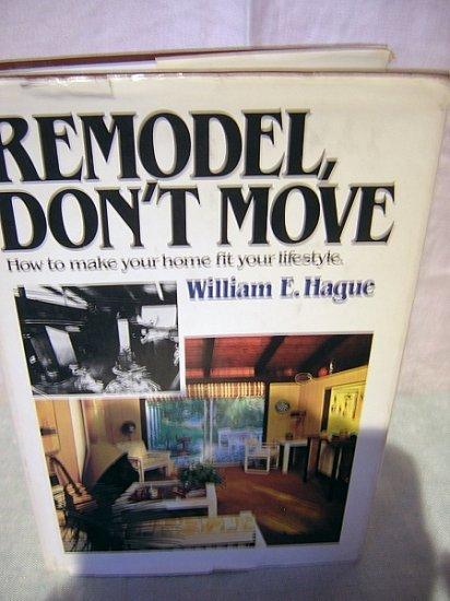 Remodel, Don't Move Wm. E. Hague retro interior design AL1194