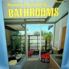 Planning & Remodeling Bathrooms Sunset Books 1974 AL1213