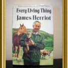 Every Living Thing James Herriot 1st edition hard cover dust jacket AL1245
