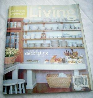 Marth Stewart Living magazine September 2000 special decorating issue AL1259