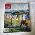 Martha Stewart Living magazine collecting vintage tea towels June 2001 AL1268