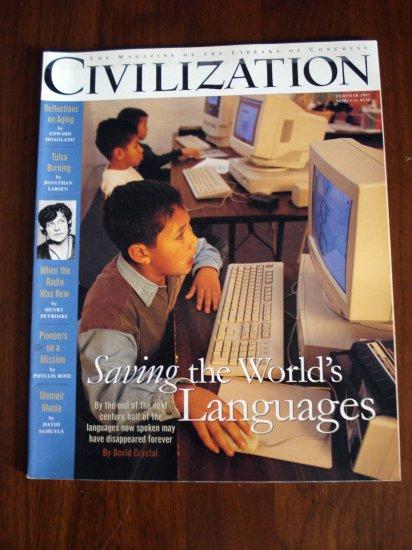 Civilization The Magazine of the  Library of Congress Feb Mar 1997 AL1283