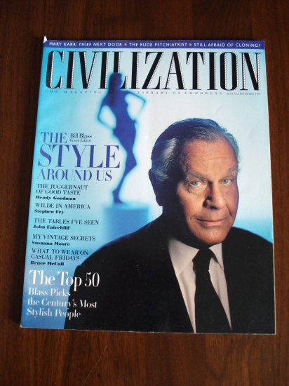 Civilization the Magazine of the Library of Congress Aug Sept 1998 AL1294