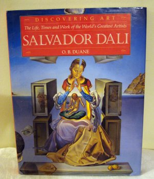Salvador Dali O B Duane Discovering Art series HB DJ 1st with prints AL1347