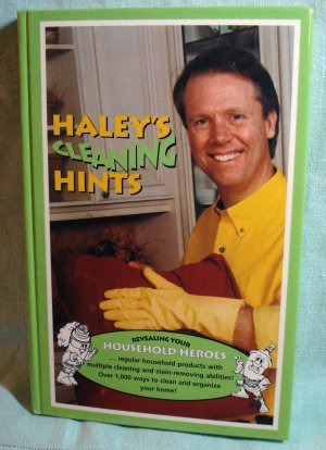 Haley's Cleaning HInts Graham Rosemary Haley HB AL1372