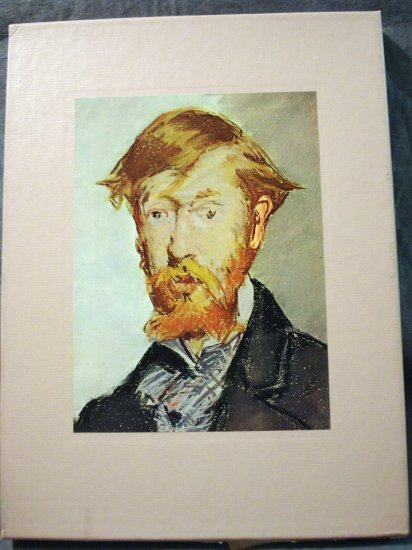 The World of Manet slip-cover book Time-Life Library of Art AL1400