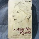 Anais Nin Reader ed Philip K Jason 1974 used PB good condition AL1402