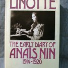 Linotte The Early Diary of Anais Nin 1914-1920 Rupert Pole editor 1st hc AL1425