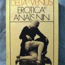 Delta of Venus Erotica by Anais Nin hc dj fine AL1426