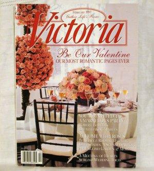 Victoria magazine back issue February 1997 Valentines issue AL1525