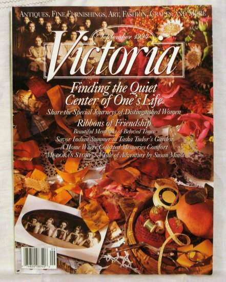 Victoria magazine back issue September 1994 issue AL1529