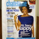 Chatelaine Magazine January 2008 Tips for a better life issue AL1569