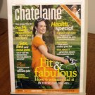 Chatelaine Magazine August 2007 Fit and Fabulous health special AL1576