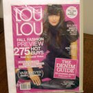 Lou Lou Canada's Shopping Magazine August 2007 fall fashion denim guide AL1577