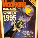 Macleans Canada and the world 1995 January 9 back issue AL1594