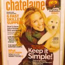 Chatelaine Magazine October 2007 Halloween simplifying your life AL1600
