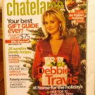 Chatelaine Magazine December 2007 Debbie Travis at home Italian holiday feast AL1602