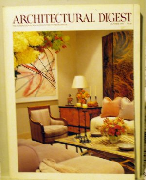 Architectural Digest October 1991 back issue Cher Greece Russia  AL1606
